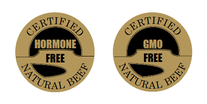 GMO Free. Hormone Free Natural Beef